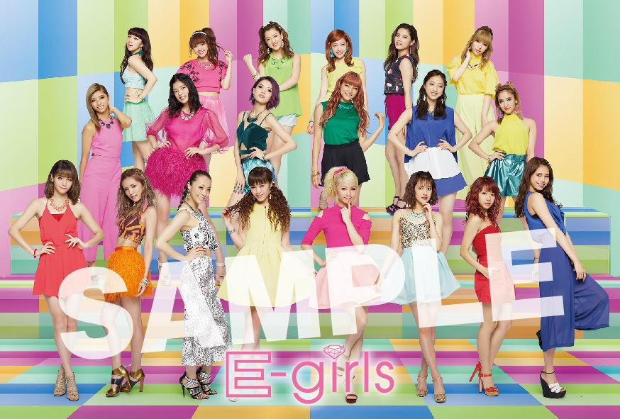 HiGH&LOW_ポストカード_E-girls_A